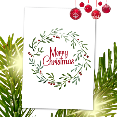Christmas Cards Design 09